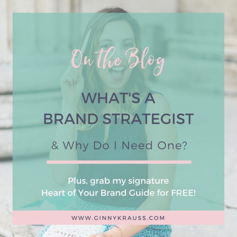 What's a Brand Strategist & Why Do I Need One?